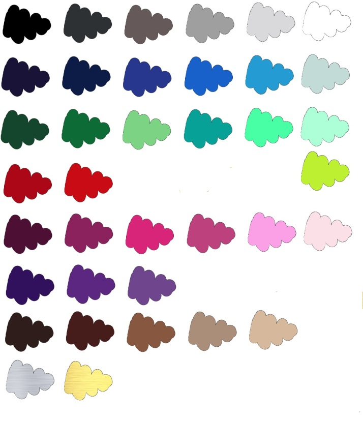 My colour palette